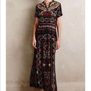 Anthropologie Aasha Maxi Dress